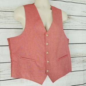 💰Saddlebred | Light Red Dressy Vest